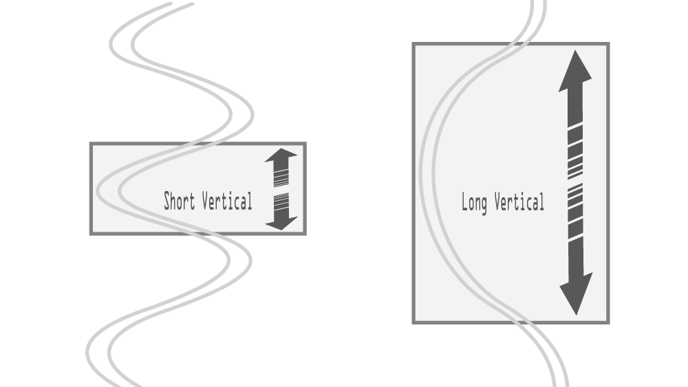 Turn Shape - Vertical Distance