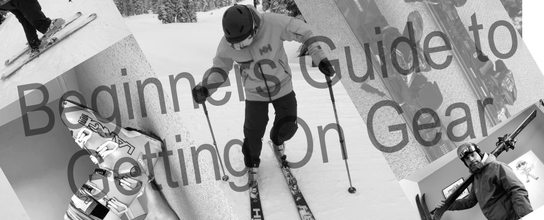 Beginner Ski Lesson - Getting Used To The Equipment