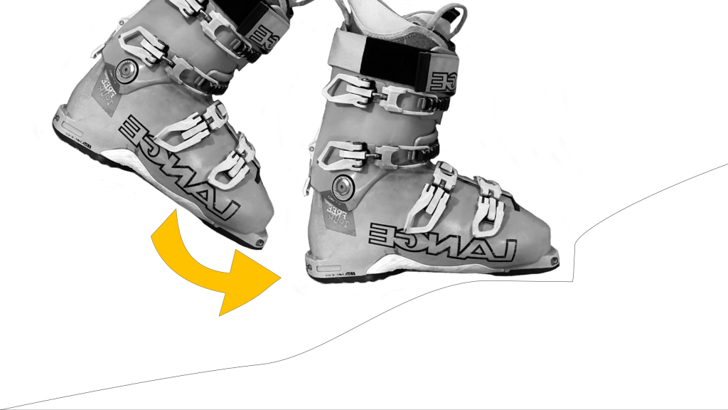 Walking in Ski Boots - Kick Your Toes In